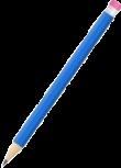 lapiz azul